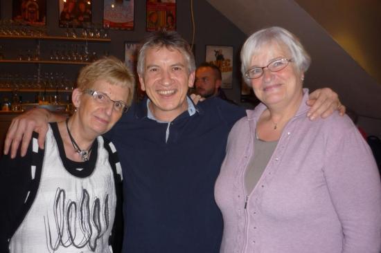Avec Jeannine et Liliane - Décembre 2014
