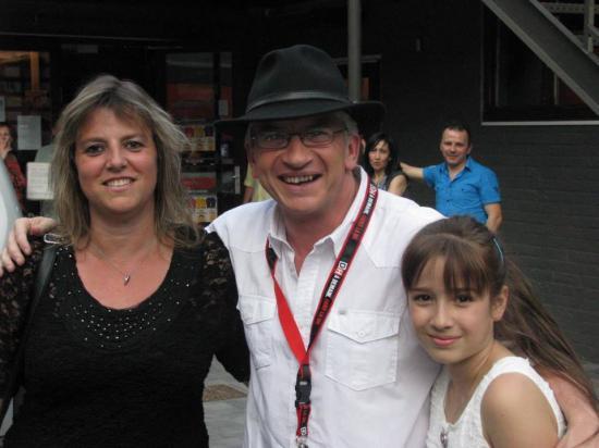 Avec Nancy et Coralie - 7 juin 2014