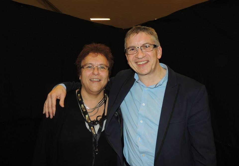 Avec Claudia - Février 2015