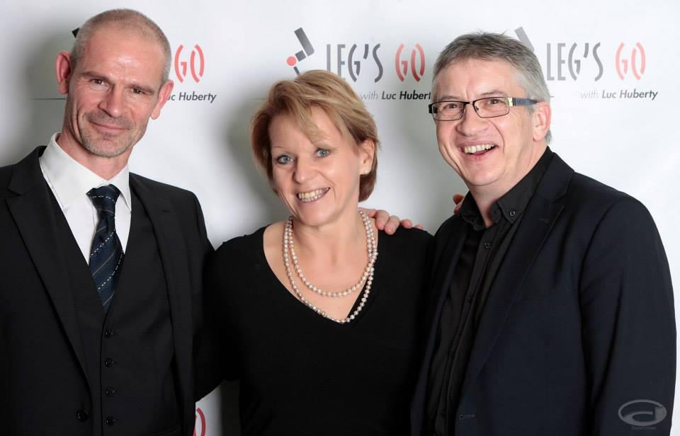 Avec Luc et Geneviève - Mars 2015