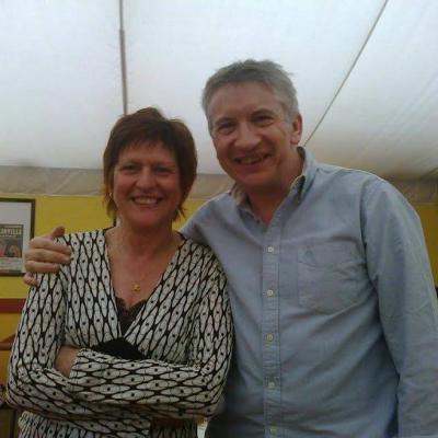 Avec Marie-Anne - Juin 2015