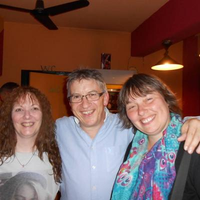 Avec Rosanna et Rachel - Juin 2015