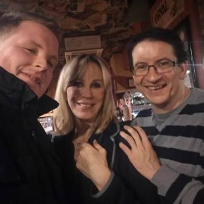Avec Bruno et Françoise de Paeuw - Février 2016
