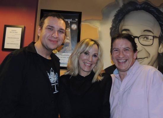 Avec François et Françoise de Paeuw - 12 mars 2016