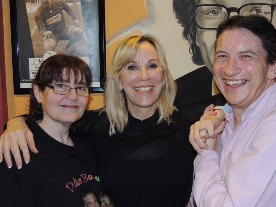 Avec Muriel et Françoise de Paeuw - 12 mars 2016