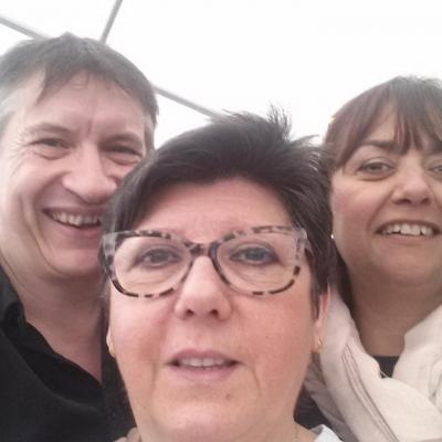Avec Nuria et Noula - 4 mai 2016