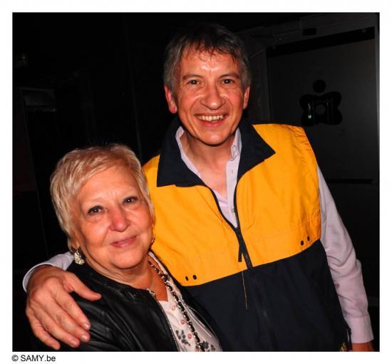 Avec Giuliana - Le 25 septembre 2016