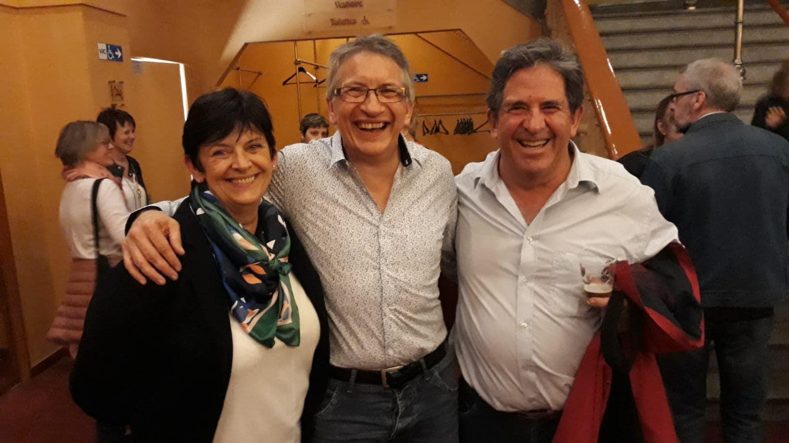 Avec Brigitte et Bernard - Le 26 avril 2019