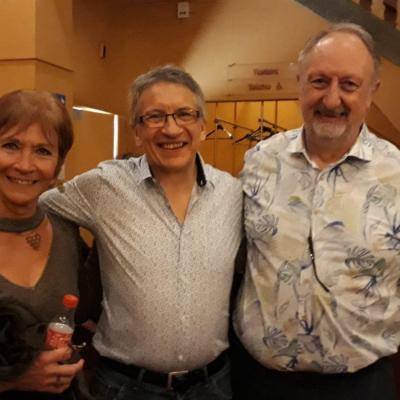Avec Monique et Jacques - Le 26 avril 2019
