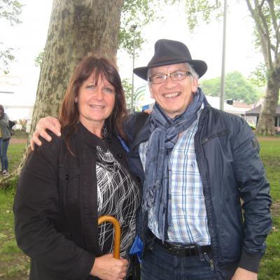 Avec Patricia - Le 19 mai 2019