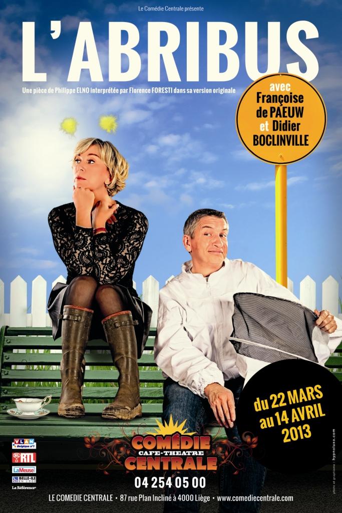 Affiche L'Abribus Liège