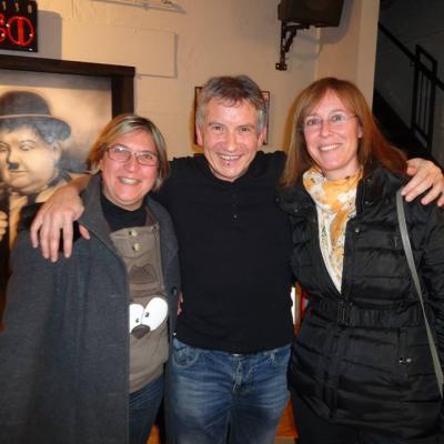 Avec Aline et Florence - Décembre 2014