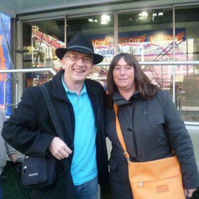 Avec Chantal - 10 ctobre 2012