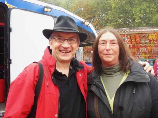 Avec Chantal - Octobre 2011
