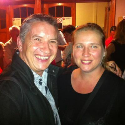 Avec Claire - 25 août 2012