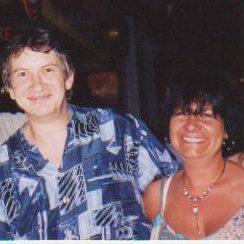 Avec Dominique - Août 2003