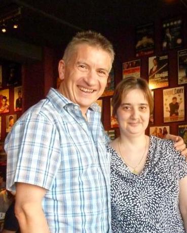 Avec Isabelle - 27 mai 2012