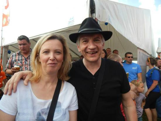 Avec Joëlle - Juillet 2014