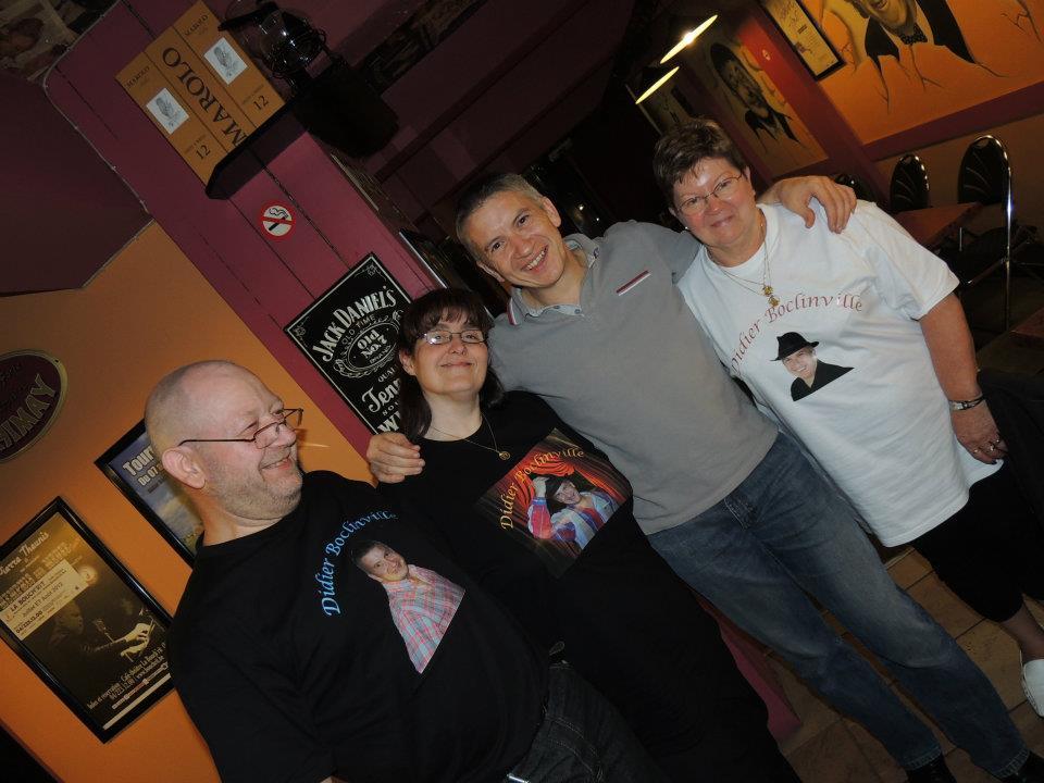Avec Michel, Muriel et Monique - 7 juin 2012
