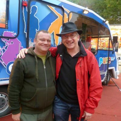 Avec Michel - Octobre 2011