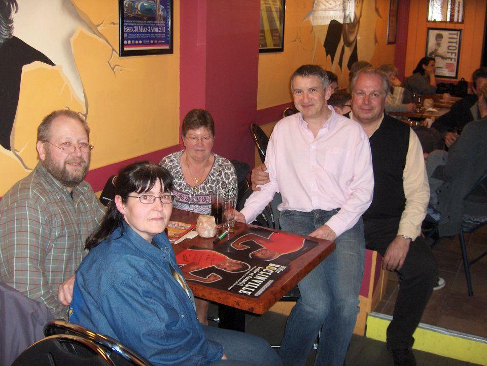 Avec Muriel, Michel et Monique. Et Pierre Theunis évidemment!