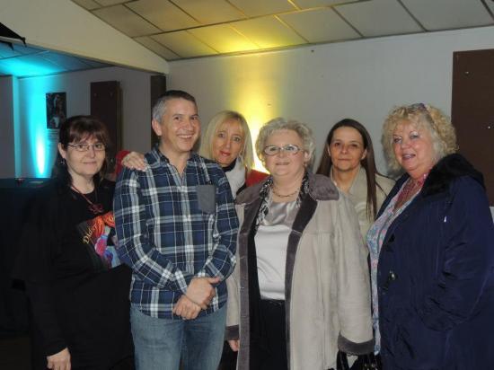 Avec Muriel, Pascale, Sylvia, Joan et Corinne - 16 février 2013