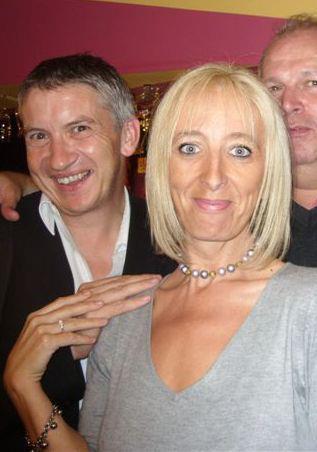 Avec Pascale (et Pierre Theunis) octobre 2011