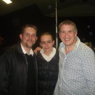 Avec Patrick et Laura - 31 octobre 2012