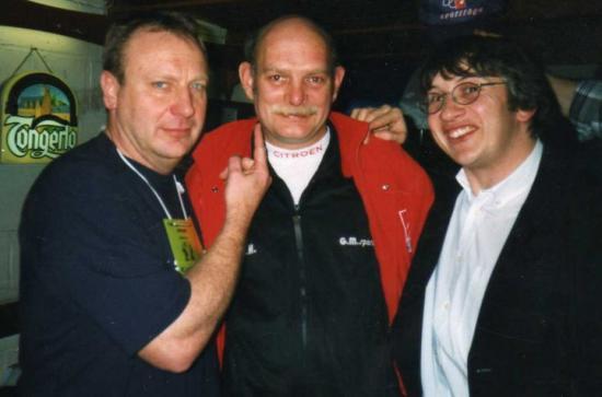 Avec Alain Soreil et Patrice - 2001