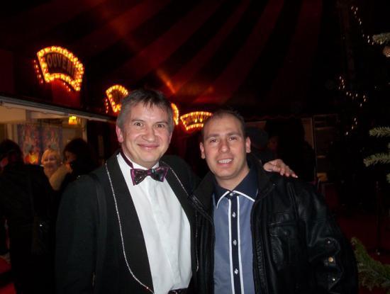 Avec Christophe (Pas Le chanteur, mais chanteur quand même) - 2011