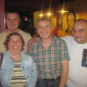 Avec Etienne, Anna et Guy, des fidèles - 2010