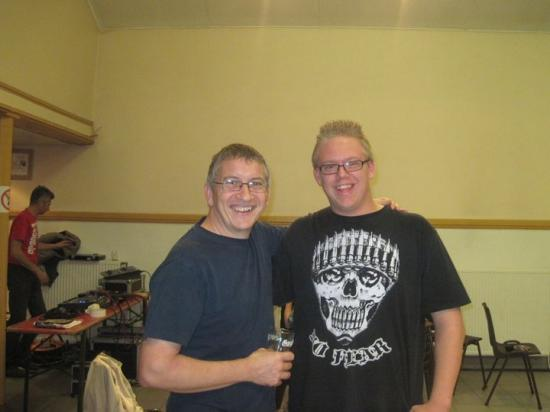 Avec Gaëtan - 2010