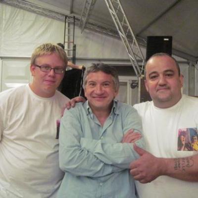 Avec Gaëtan et Guy - 2010