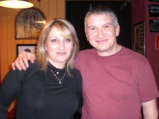 Avec Isabelle - Mars 2011