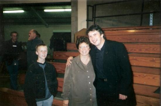 Avec Jack et sa maman (je suppose) - 1995