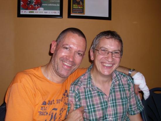 Avec Jack (on a fréquenté la même académie) - 2010