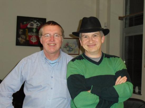 Avec Jean-Claude (Fréquence + à Andenne) - 2010