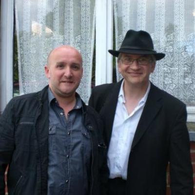 Avec Jean-Pierre (artiste lui-même) - 2010