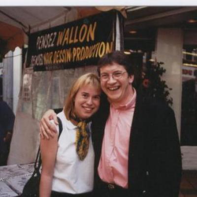 Avec Nathalie - 2000