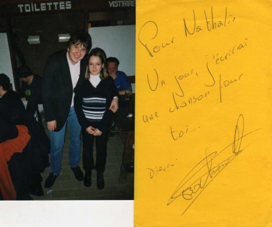 Avec Nathalie (il y en a beaucoup...) - 2000
