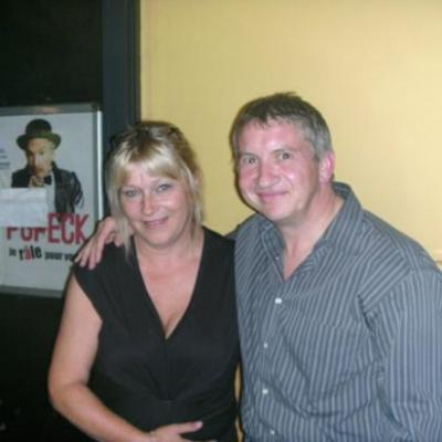 Avec Patricia - 2010