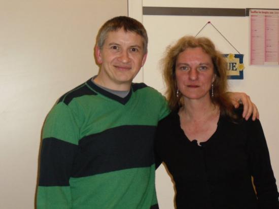 Avec Régine - 2010