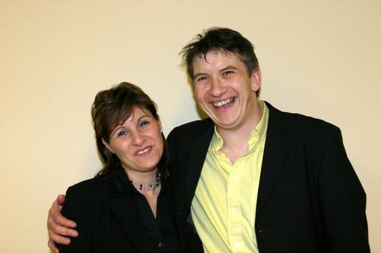 Avec Fabienne (chanteuse) - 2005
