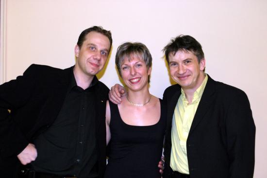 Avec Simon et Vanessa - 2005