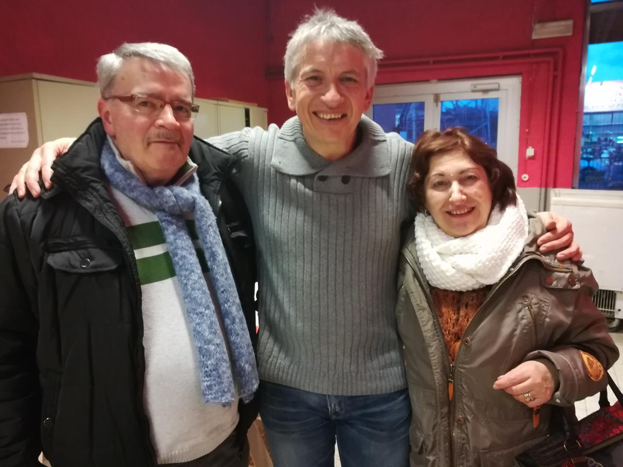 Avec Maria et Louis - 17 janvier 2018